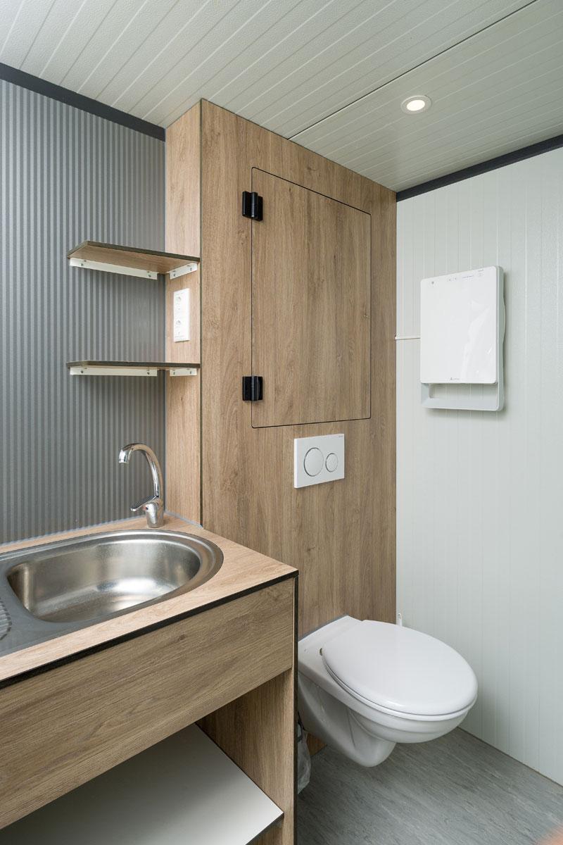 Sanitair cabine