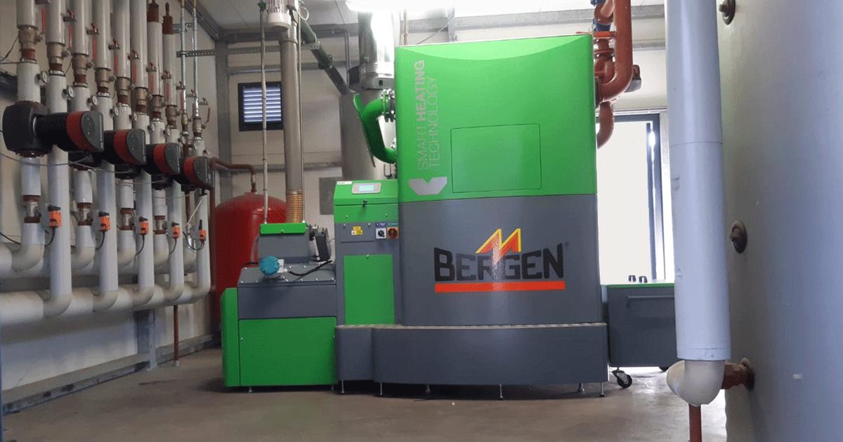 Smart Heating biomassaketel vervangen bij vleeskuikenbedrijf